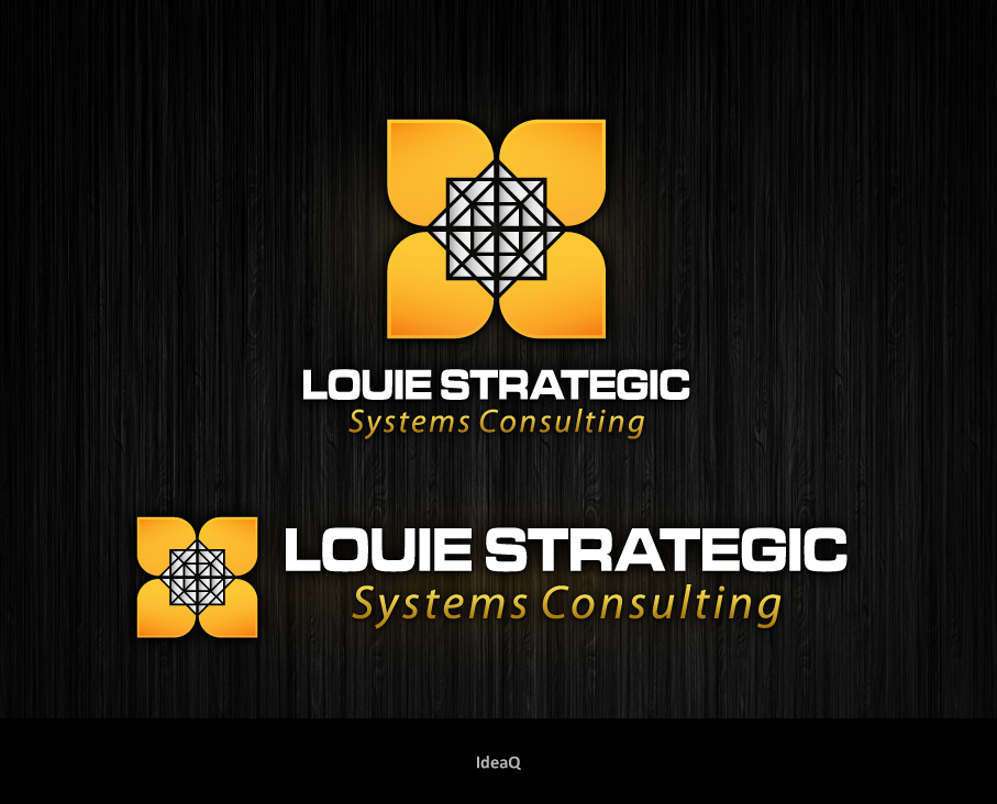 Logo Design by Private User - Entry No. 63 in the Logo Design Contest Artistic Logo Design for Louie Strategic Systems Consulting.