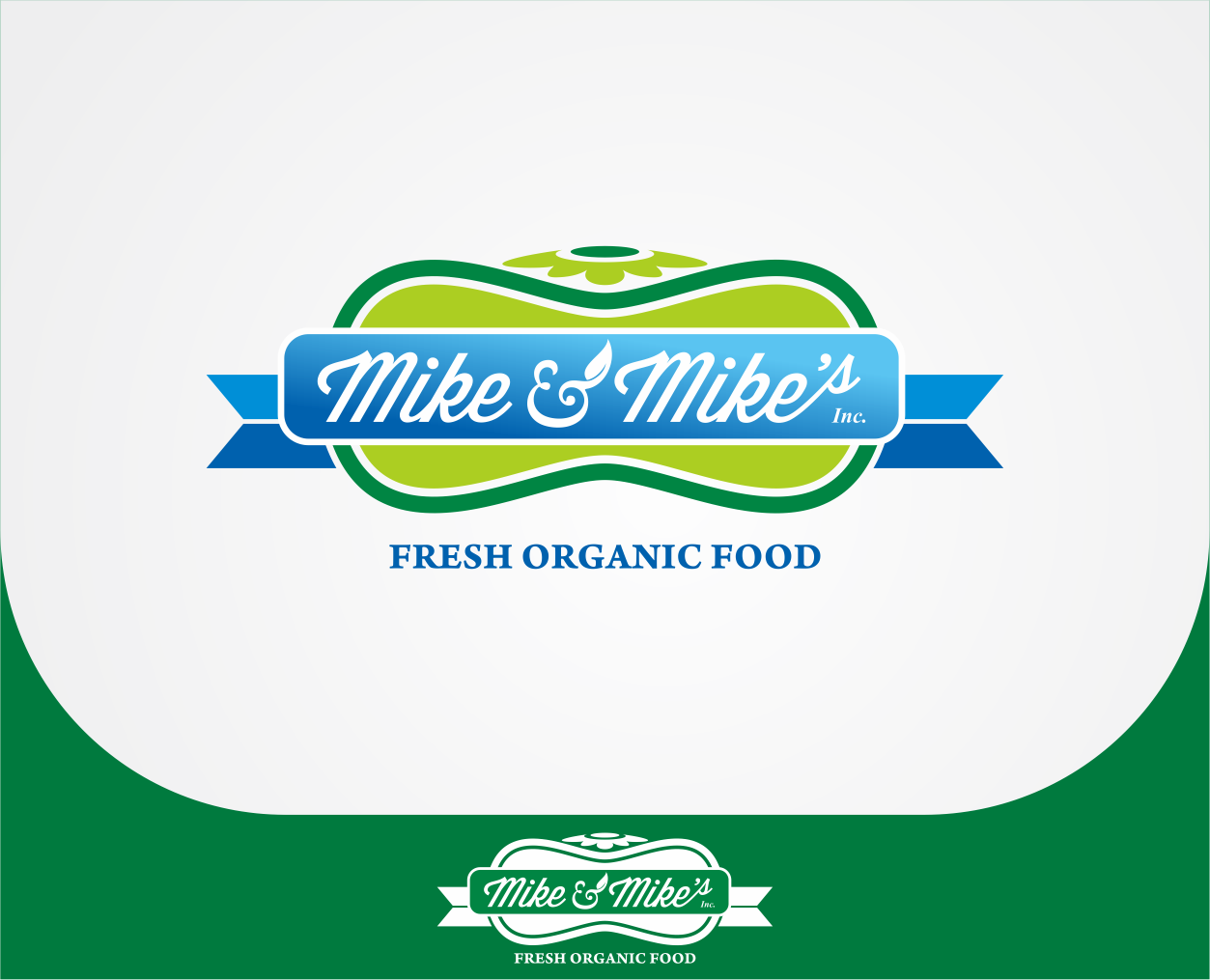 Logo Design by Armada Jamaluddin - Entry No. 61 in the Logo Design Contest Captivating Logo Design for Mike and Mike's Inc..