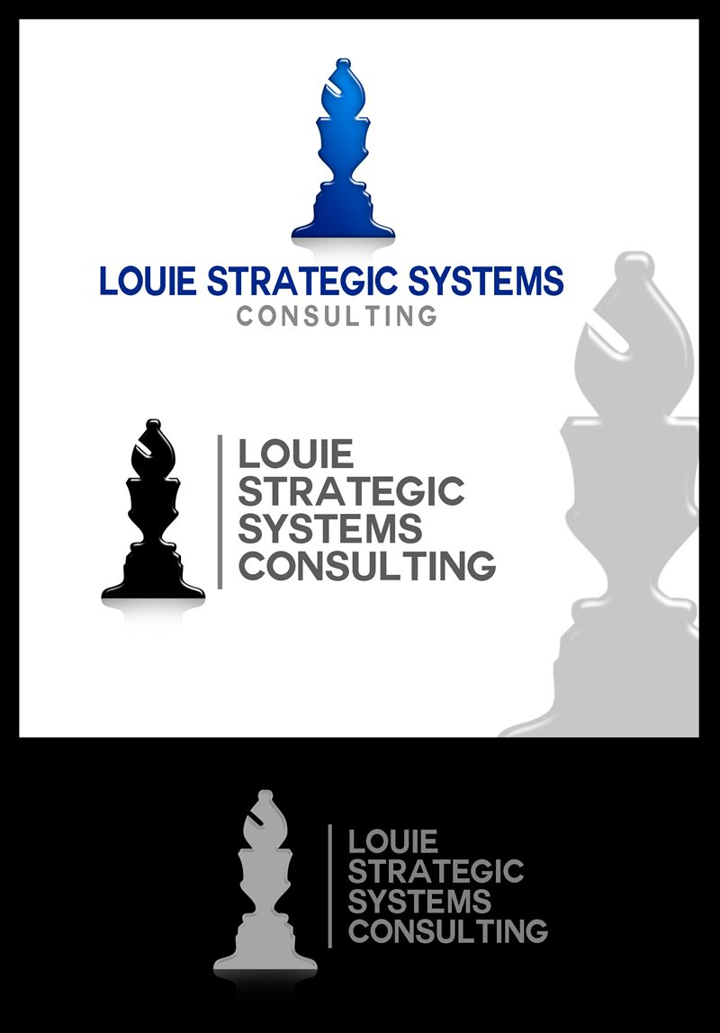 Logo Design by Respati Himawan - Entry No. 68 in the Logo Design Contest Artistic Logo Design for Louie Strategic Systems Consulting.