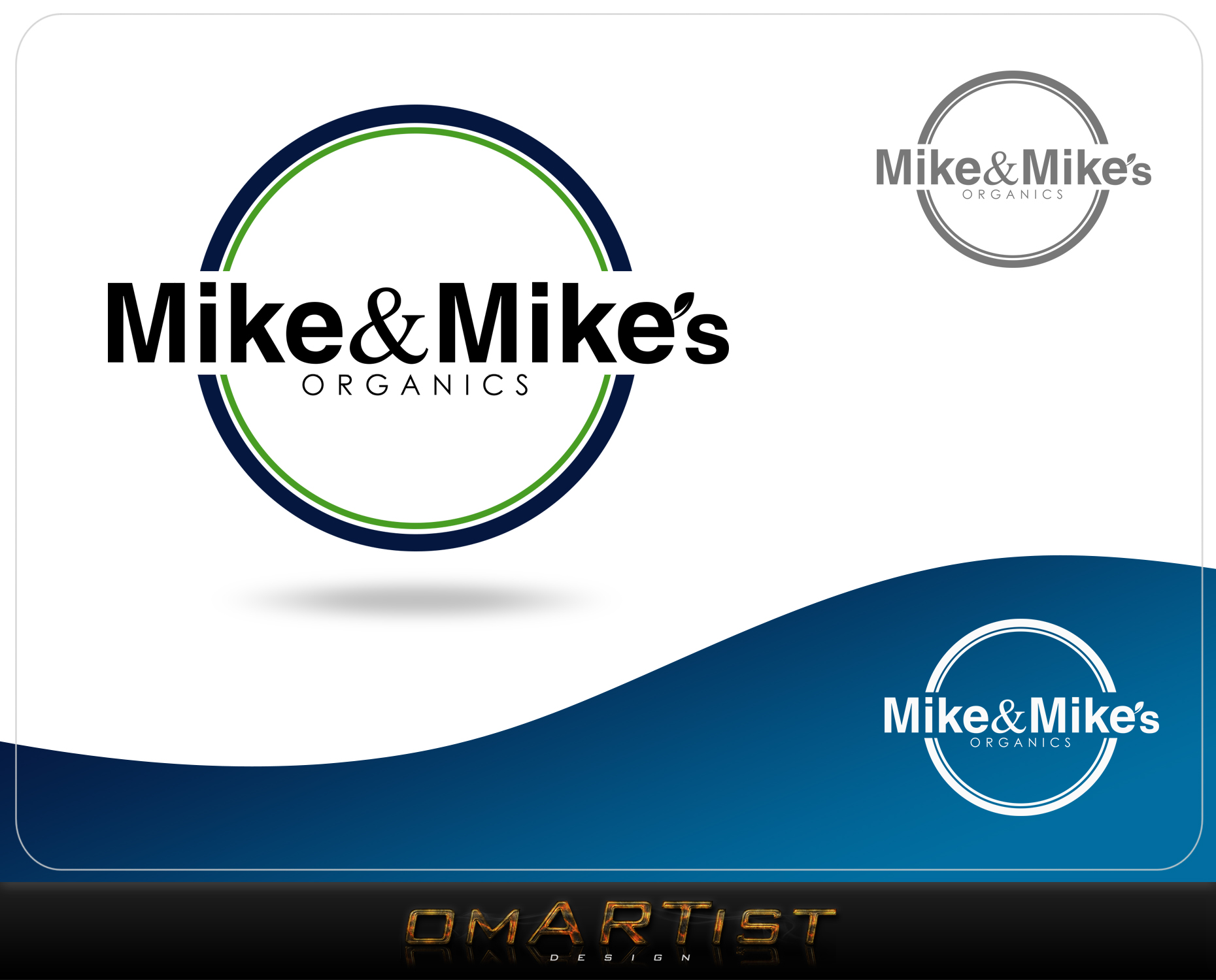 Logo Design by omARTist - Entry No. 63 in the Logo Design Contest Captivating Logo Design for Mike and Mike's Inc..