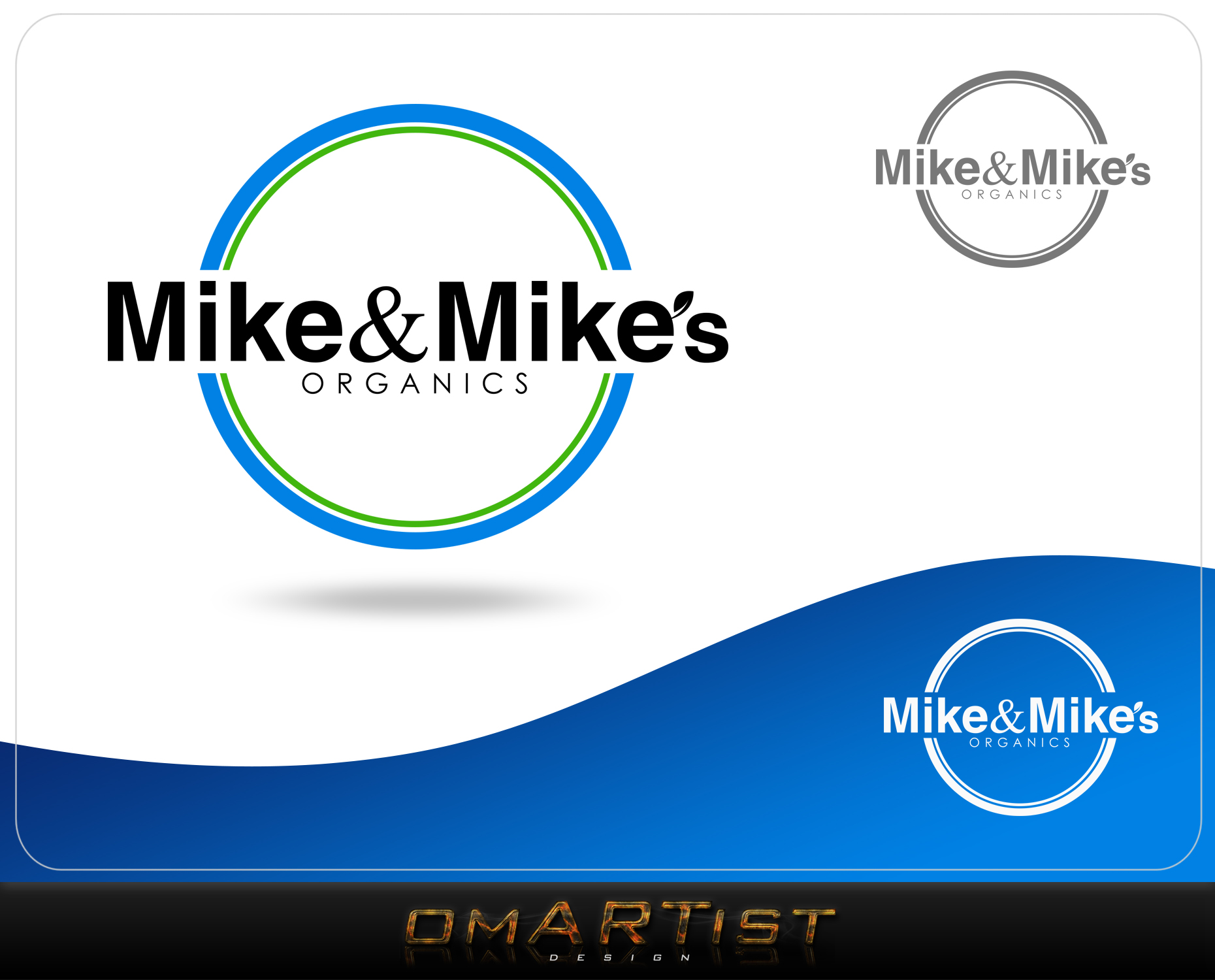 Logo Design by omARTist - Entry No. 67 in the Logo Design Contest Captivating Logo Design for Mike and Mike's Inc..