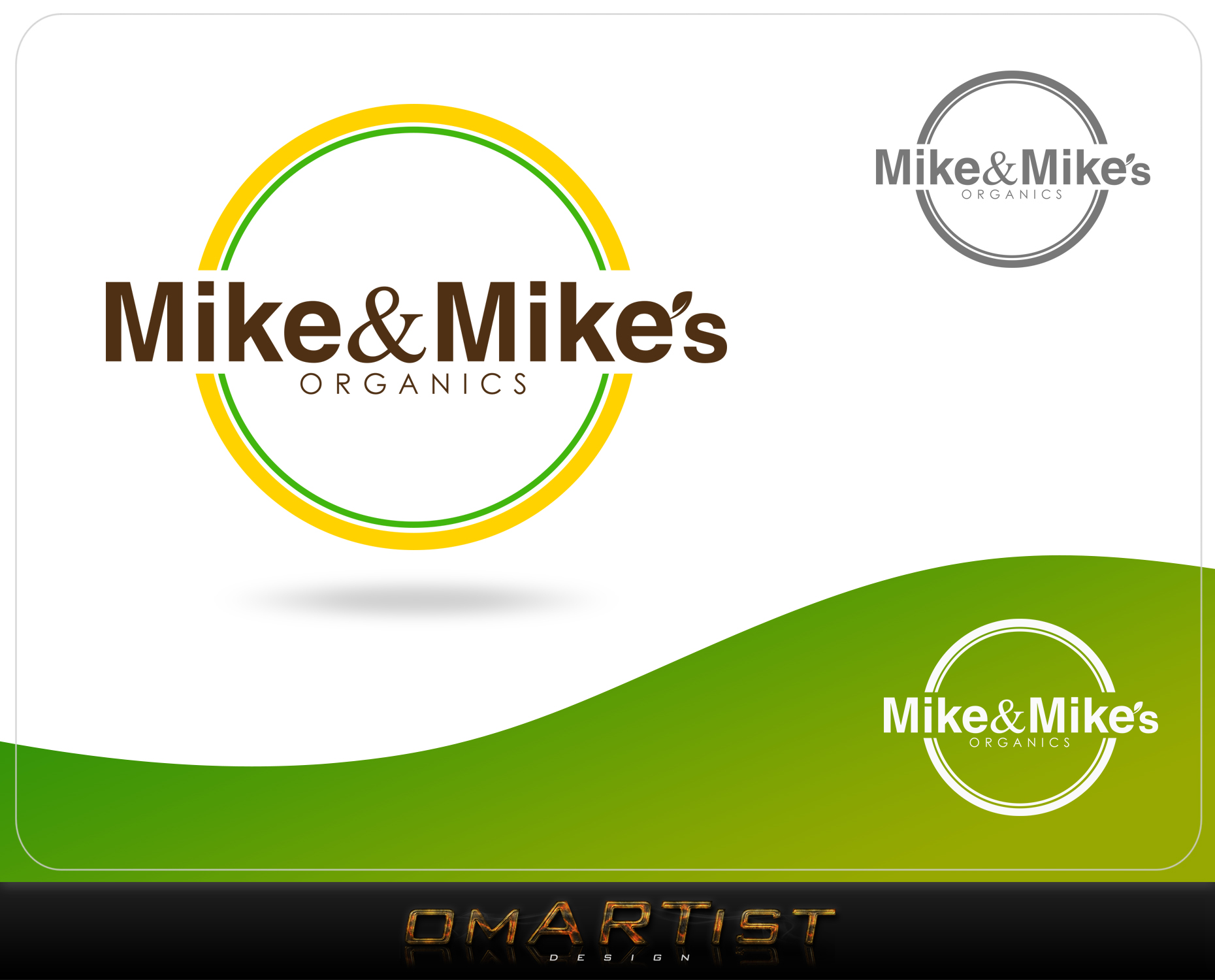 Logo Design by omARTist - Entry No. 68 in the Logo Design Contest Captivating Logo Design for Mike and Mike's Inc..