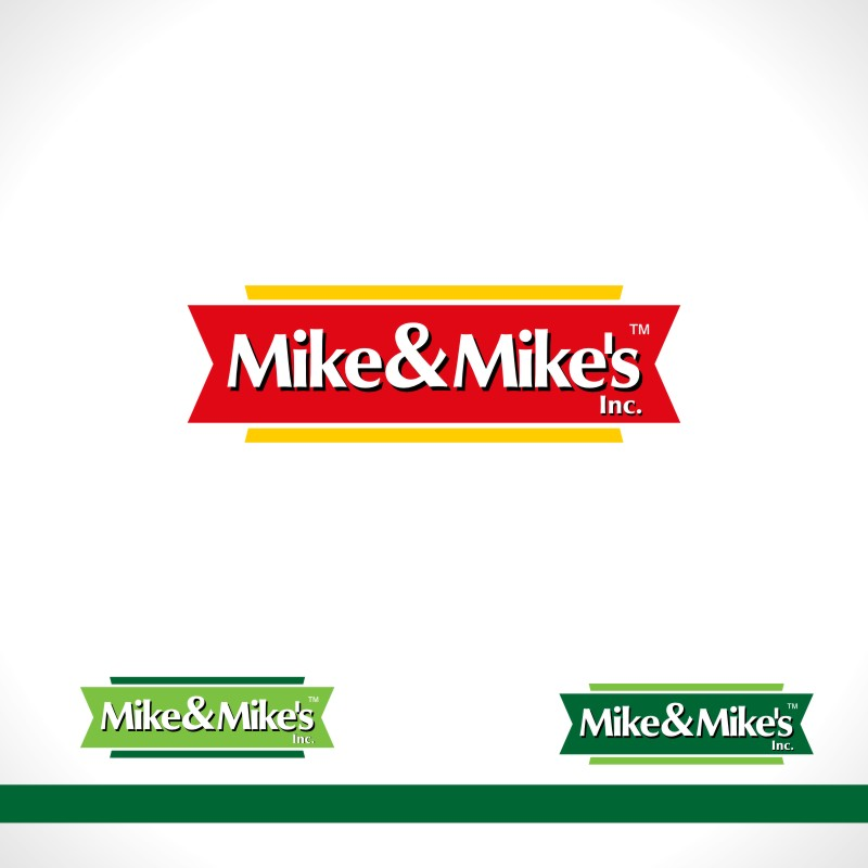 Logo Design by Private User - Entry No. 70 in the Logo Design Contest Captivating Logo Design for Mike and Mike's Inc..