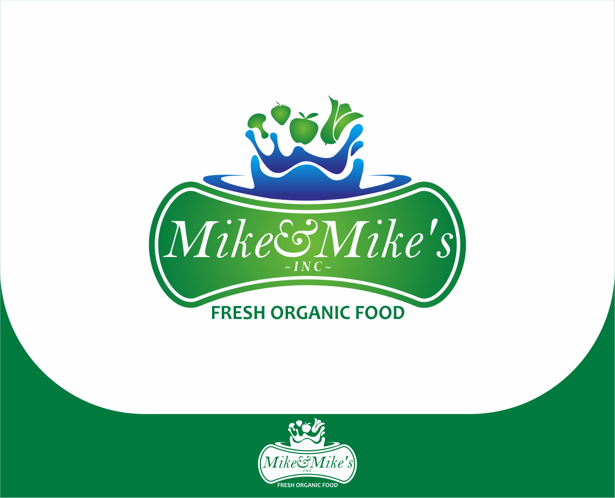 Logo Design by Armada Jamaluddin - Entry No. 74 in the Logo Design Contest Captivating Logo Design for Mike and Mike's Inc..