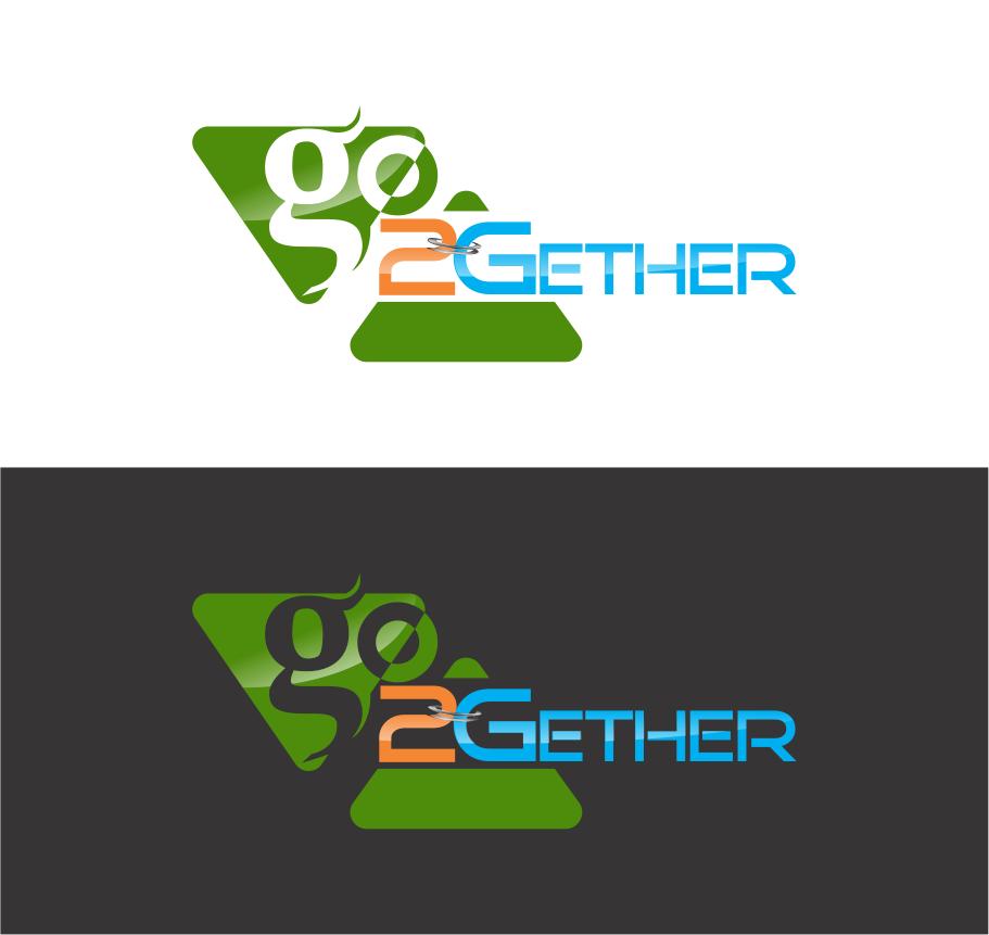 Logo Design by R1CK_ART - Entry No. 31 in the Logo Design Contest Captivating Logo Design for GO2GETHER.