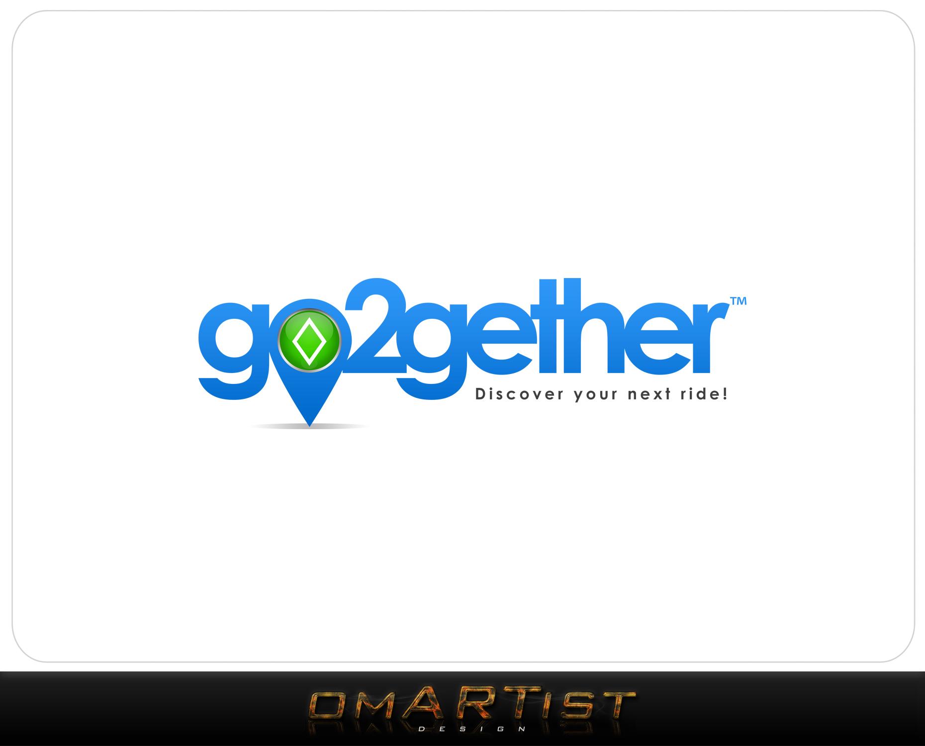 Logo Design by omARTist - Entry No. 32 in the Logo Design Contest Captivating Logo Design for GO2GETHER.