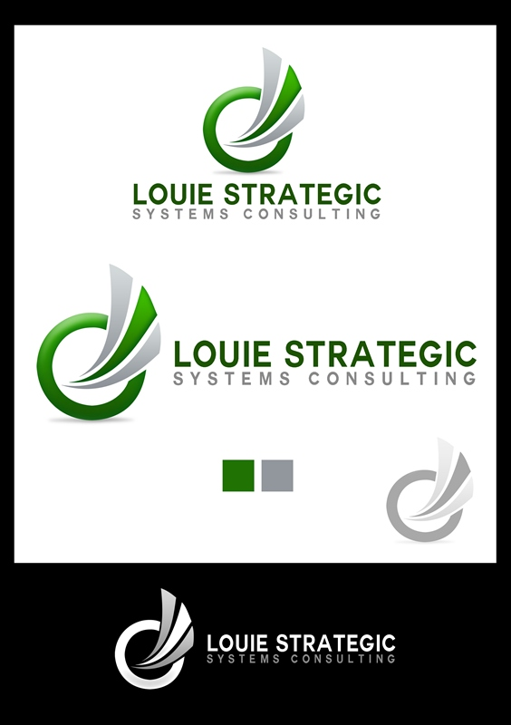 Logo Design by Respati Himawan - Entry No. 85 in the Logo Design Contest Artistic Logo Design for Louie Strategic Systems Consulting.