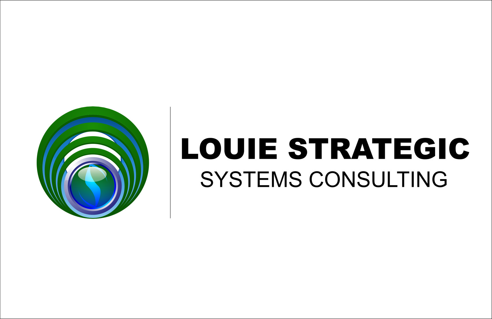 Logo Design by Agus Martoyo - Entry No. 87 in the Logo Design Contest Artistic Logo Design for Louie Strategic Systems Consulting.