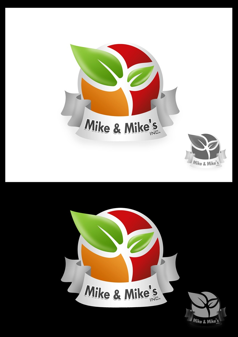 Logo Design by Respati Himawan - Entry No. 92 in the Logo Design Contest Captivating Logo Design for Mike and Mike's Inc..