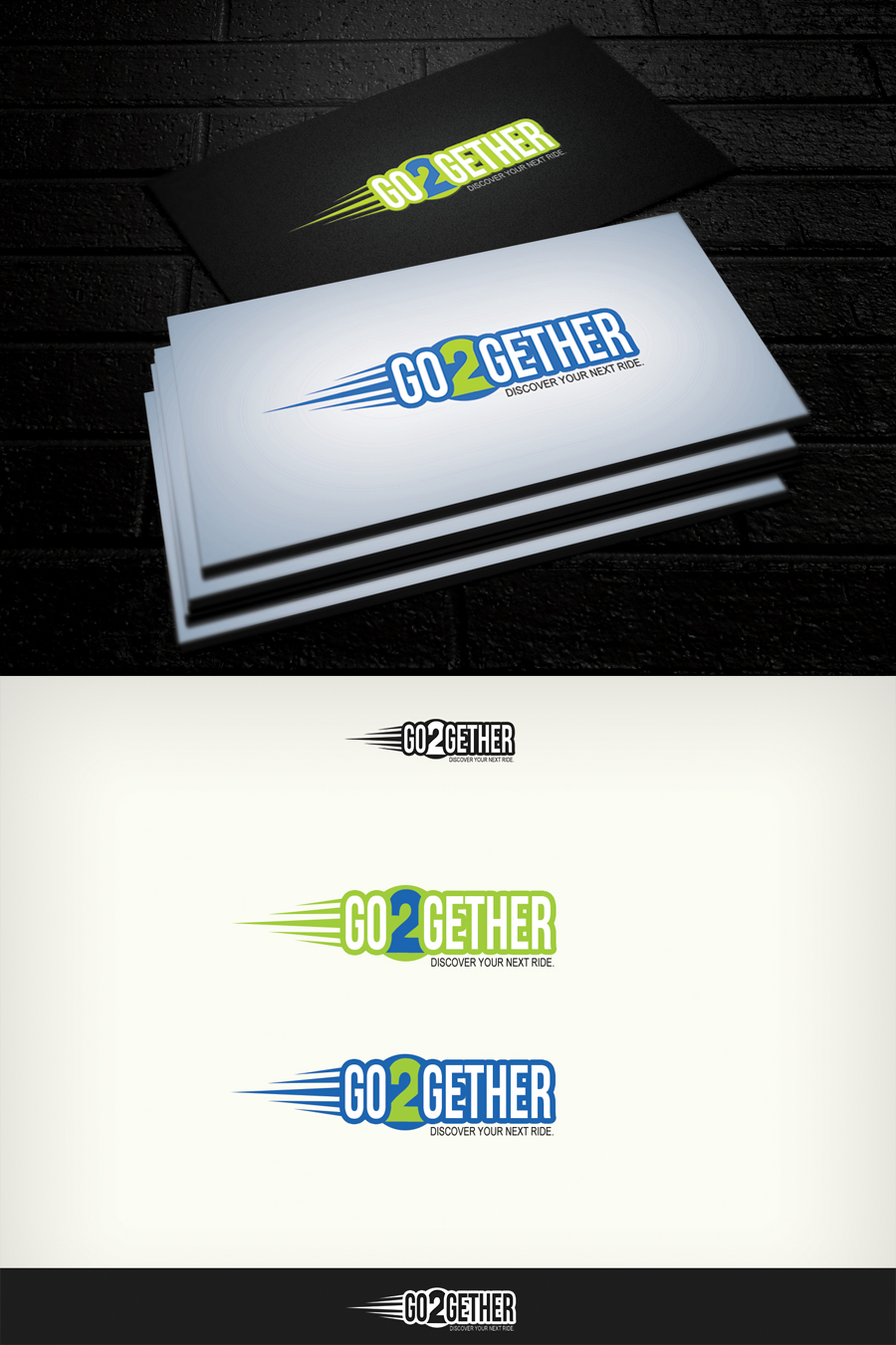 Logo Design by Virgilio Pineda III - Entry No. 40 in the Logo Design Contest Captivating Logo Design for GO2GETHER.