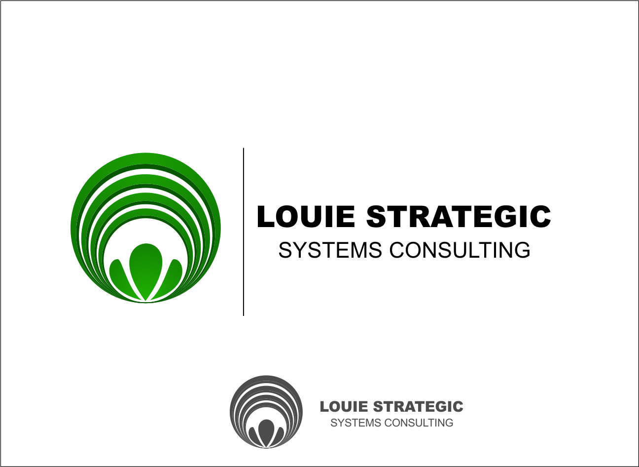 Logo Design by Agus Martoyo - Entry No. 94 in the Logo Design Contest Artistic Logo Design for Louie Strategic Systems Consulting.