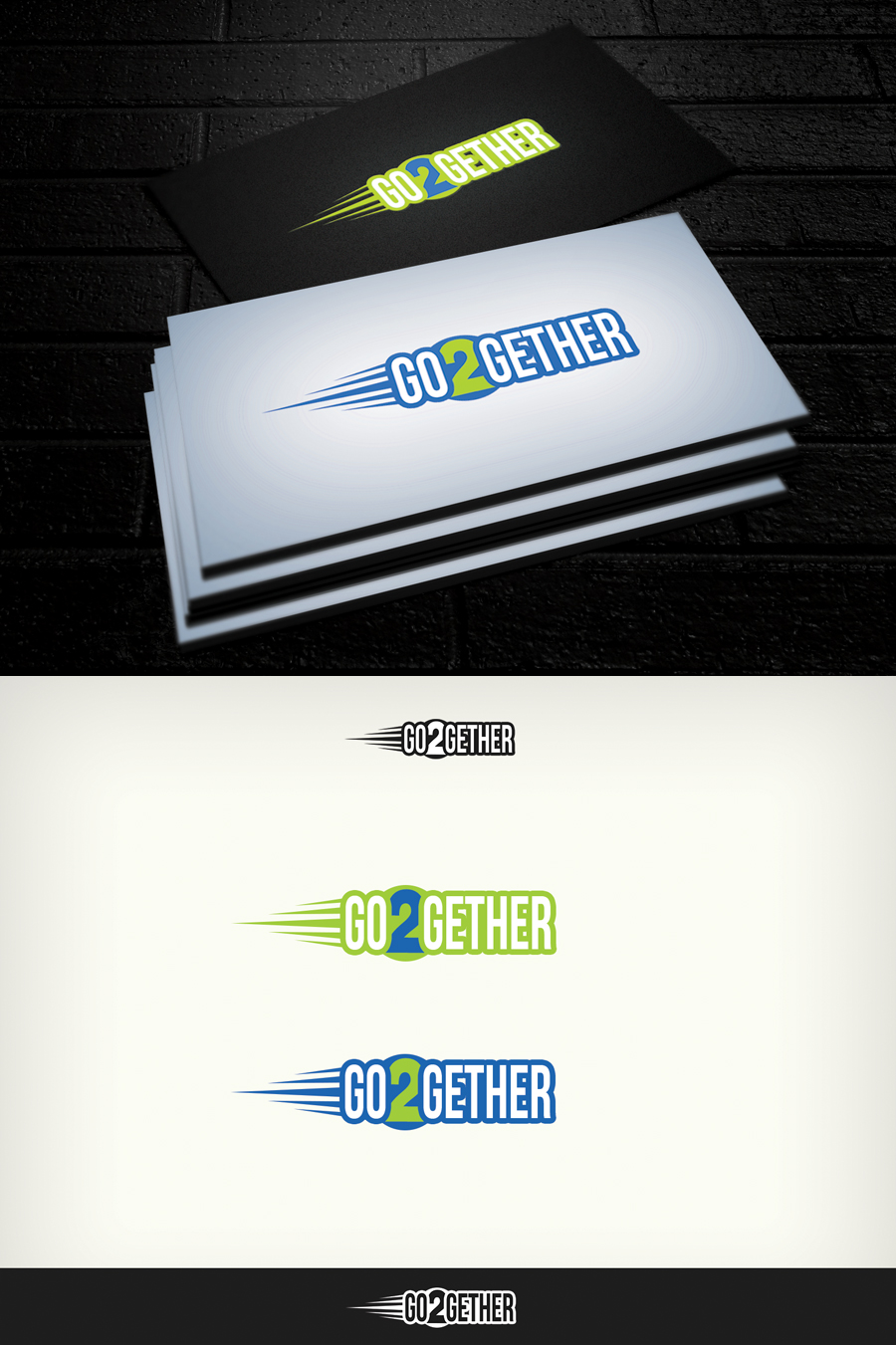Logo Design by Virgilio Pineda III - Entry No. 41 in the Logo Design Contest Captivating Logo Design for GO2GETHER.