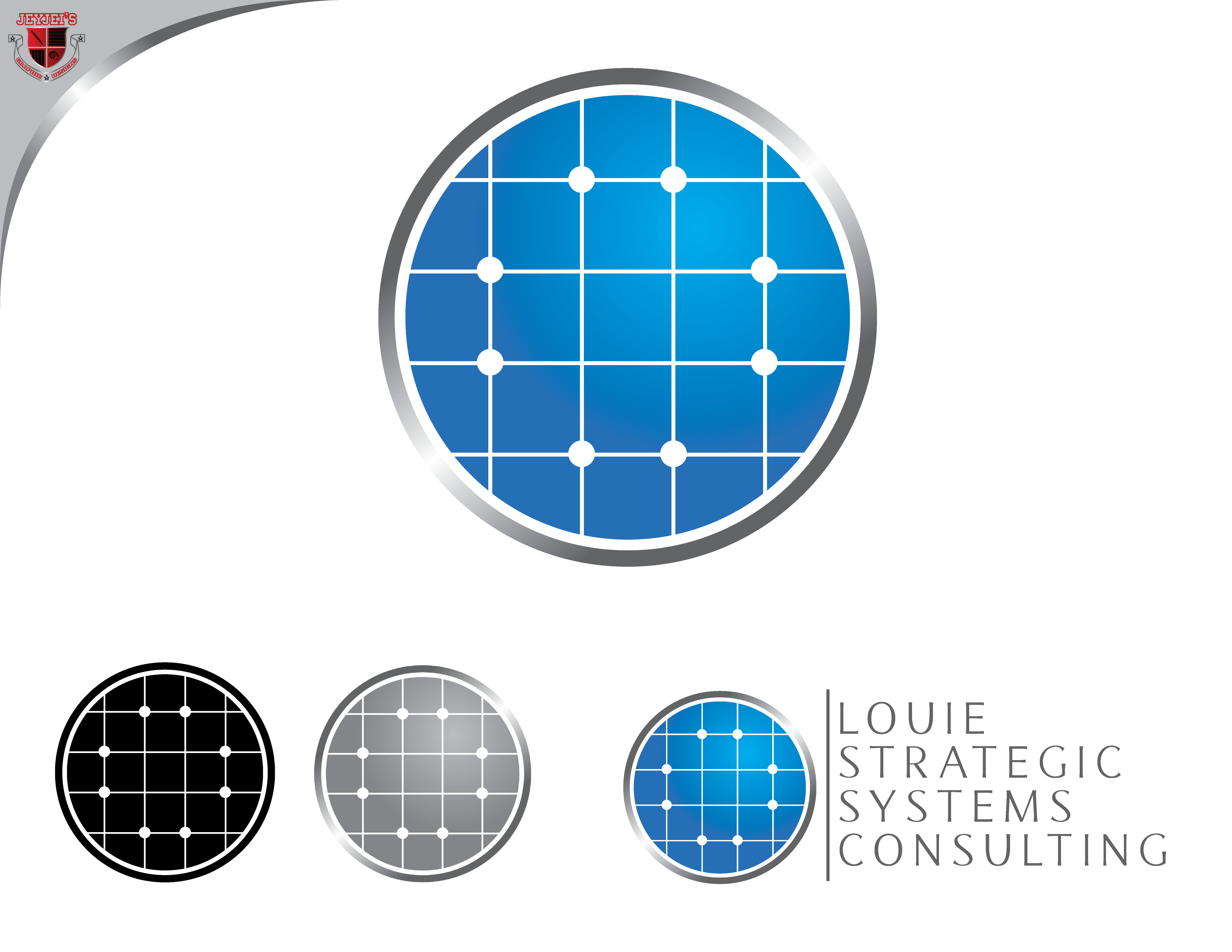 Logo Design by Private User - Entry No. 95 in the Logo Design Contest Artistic Logo Design for Louie Strategic Systems Consulting.