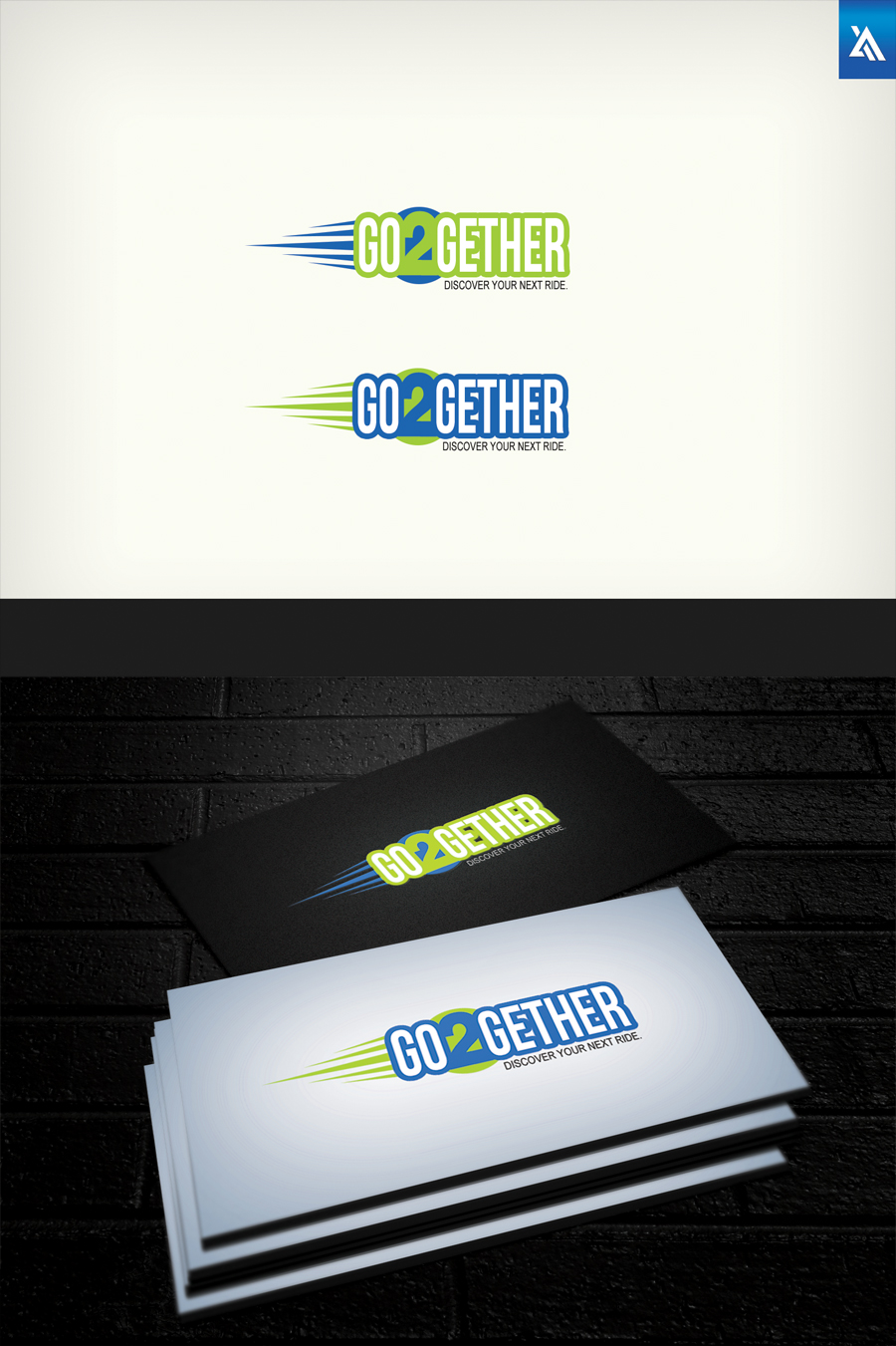 Logo Design by Virgilio Pineda III - Entry No. 42 in the Logo Design Contest Captivating Logo Design for GO2GETHER.