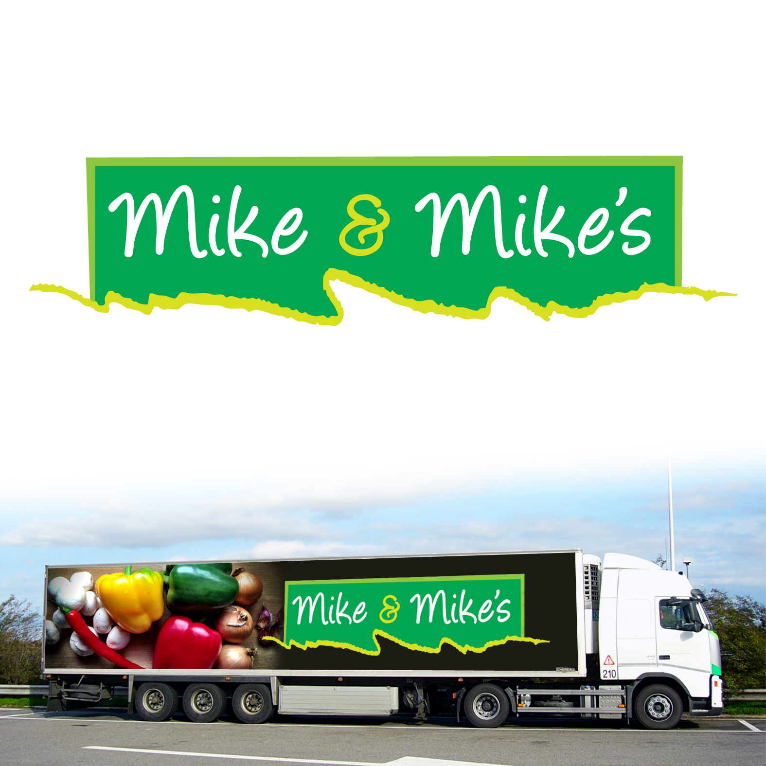Logo Design by Sean Larkin - Entry No. 95 in the Logo Design Contest Captivating Logo Design for Mike and Mike's Inc..