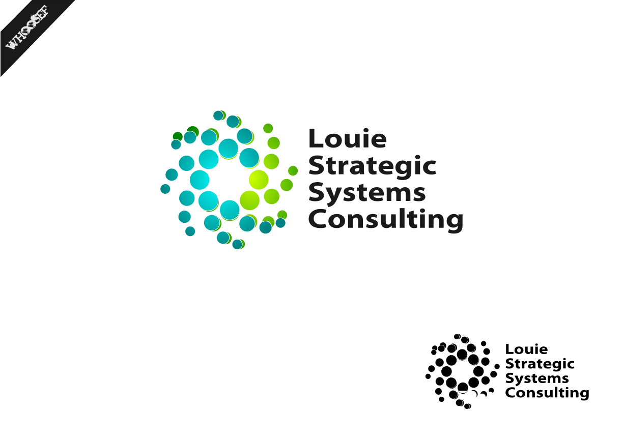 Logo Design by whoosef - Entry No. 96 in the Logo Design Contest Artistic Logo Design for Louie Strategic Systems Consulting.