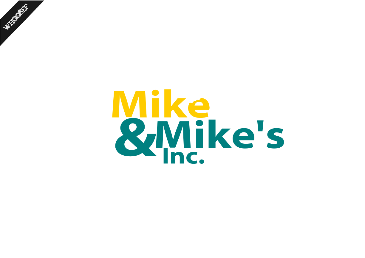 Logo Design by whoosef - Entry No. 97 in the Logo Design Contest Captivating Logo Design for Mike and Mike's Inc..