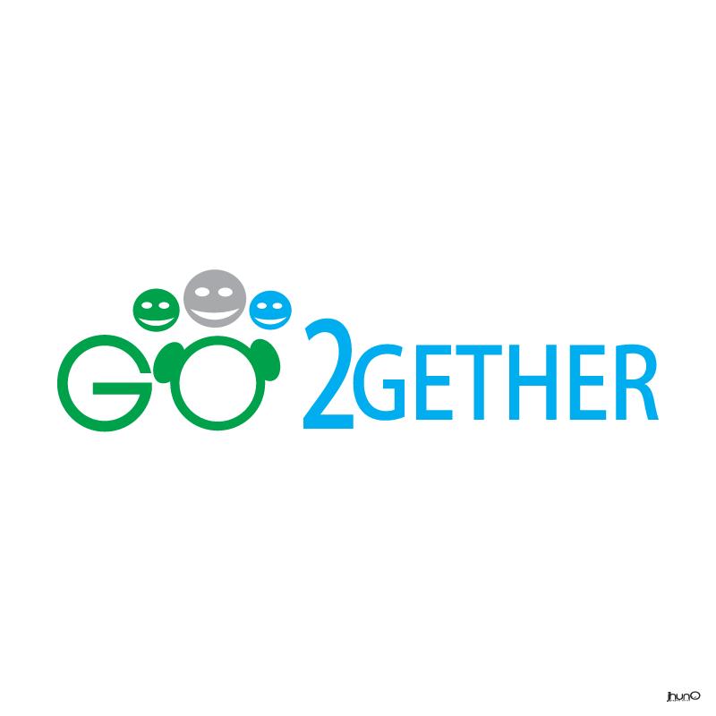 Logo Design by zesthar - Entry No. 46 in the Logo Design Contest Captivating Logo Design for GO2GETHER.