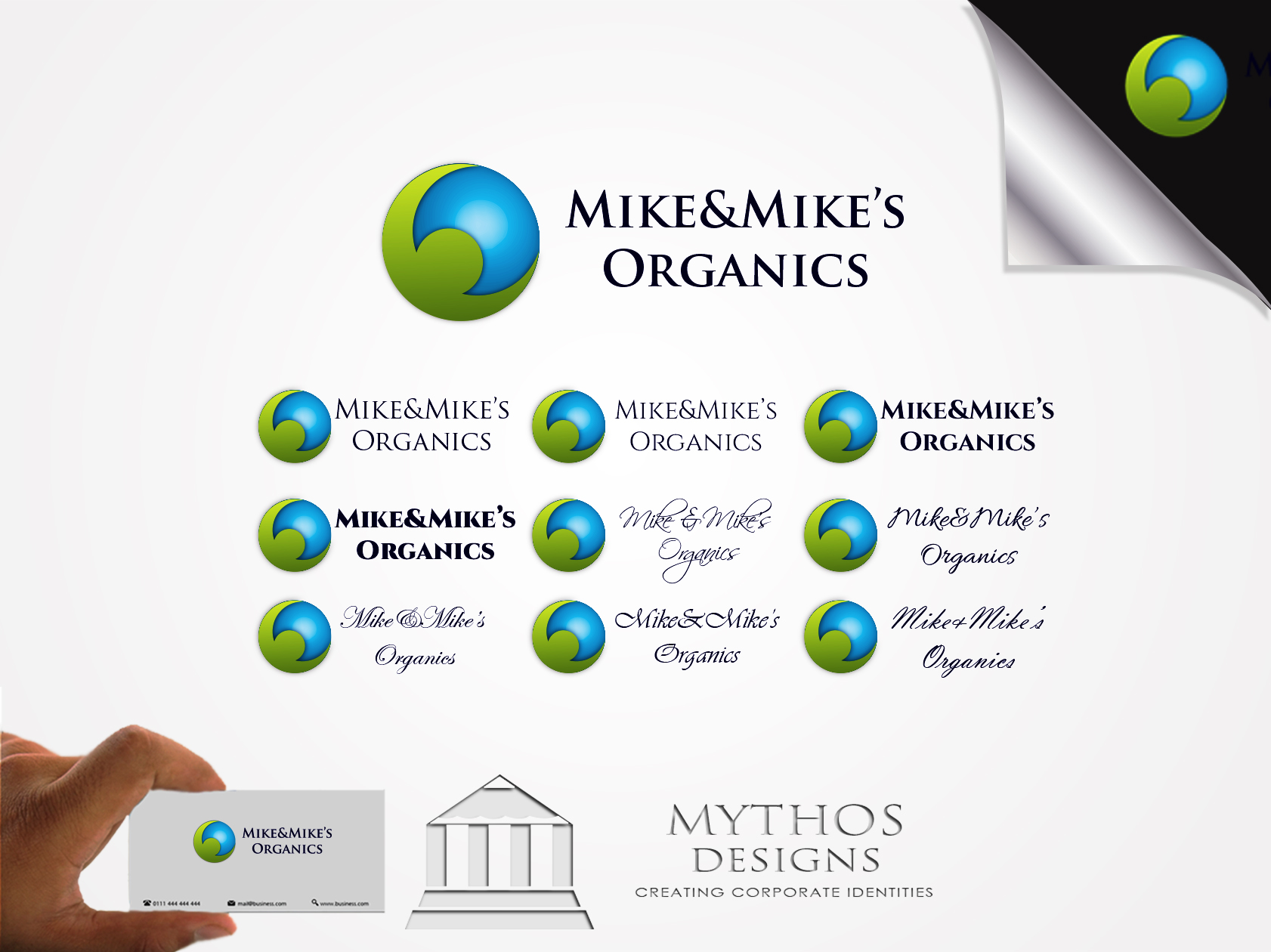 Logo Design by Mythos Designs - Entry No. 99 in the Logo Design Contest Captivating Logo Design for Mike and Mike's Inc..