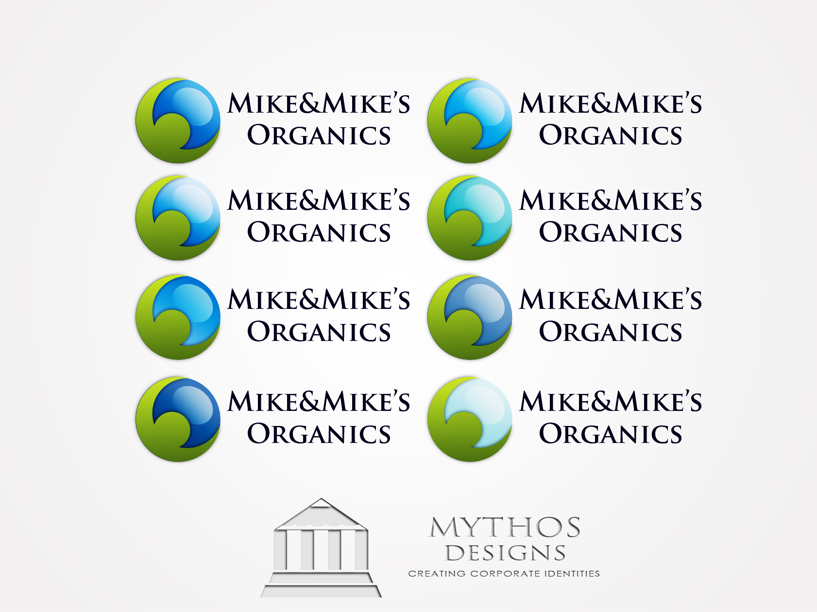 Logo Design by Mythos Designs - Entry No. 105 in the Logo Design Contest Captivating Logo Design for Mike and Mike's Inc..