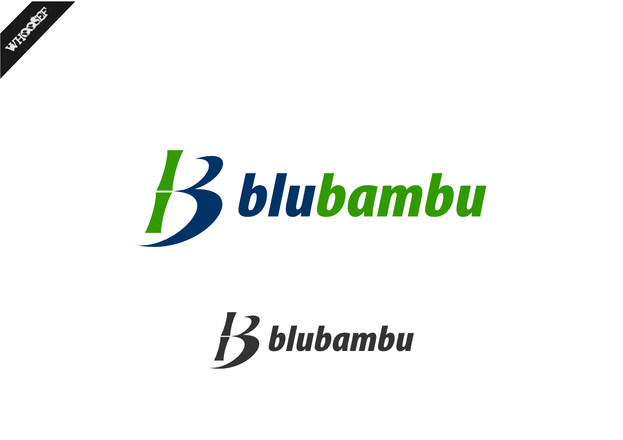 Logo Design by whoosef - Entry No. 23 in the Logo Design Contest New Logo Design for blubambu.