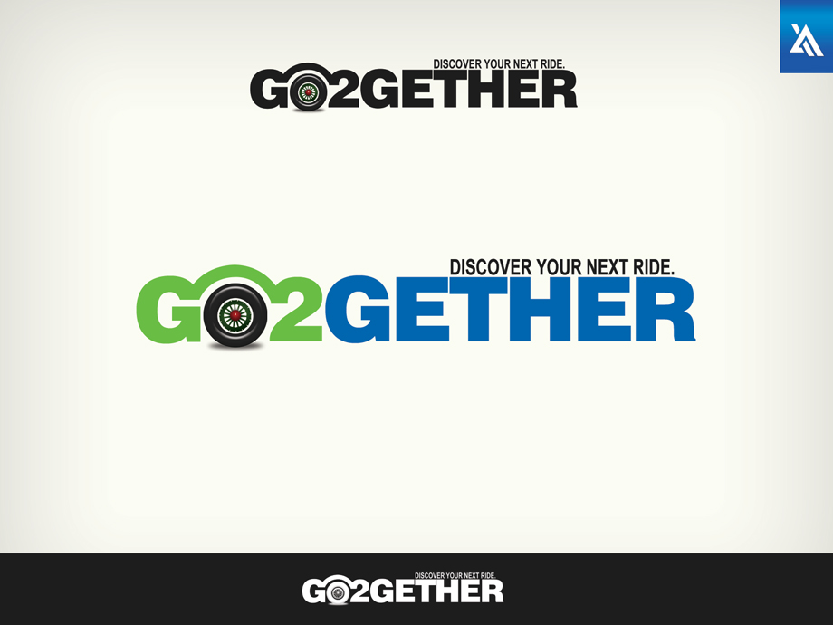 Logo Design by Virgilio Pineda III - Entry No. 47 in the Logo Design Contest Captivating Logo Design for GO2GETHER.