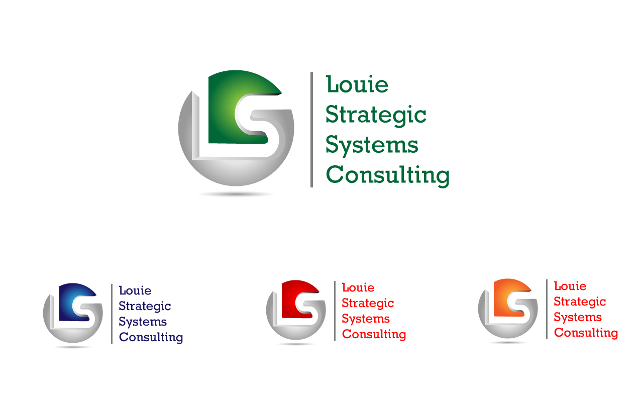 Logo Design by Jagdeep Singh - Entry No. 101 in the Logo Design Contest Artistic Logo Design for Louie Strategic Systems Consulting.