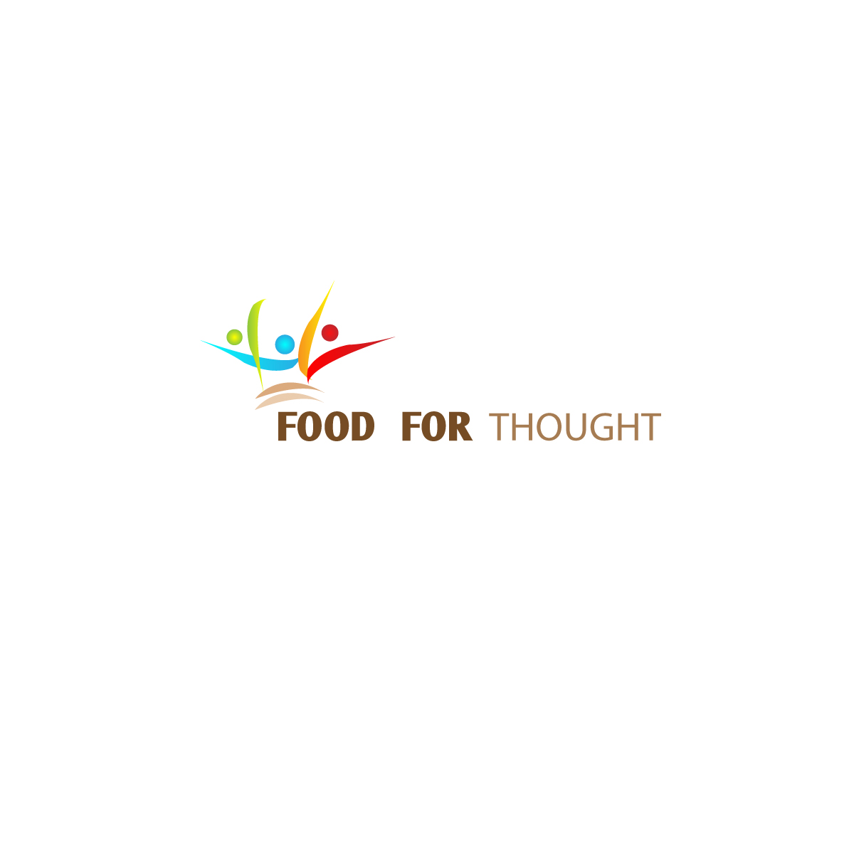 Logo Design by meme - Entry No. 23 in the Logo Design Contest Food for Thought -Partners include SUCCESS, BC Healthy Commu.