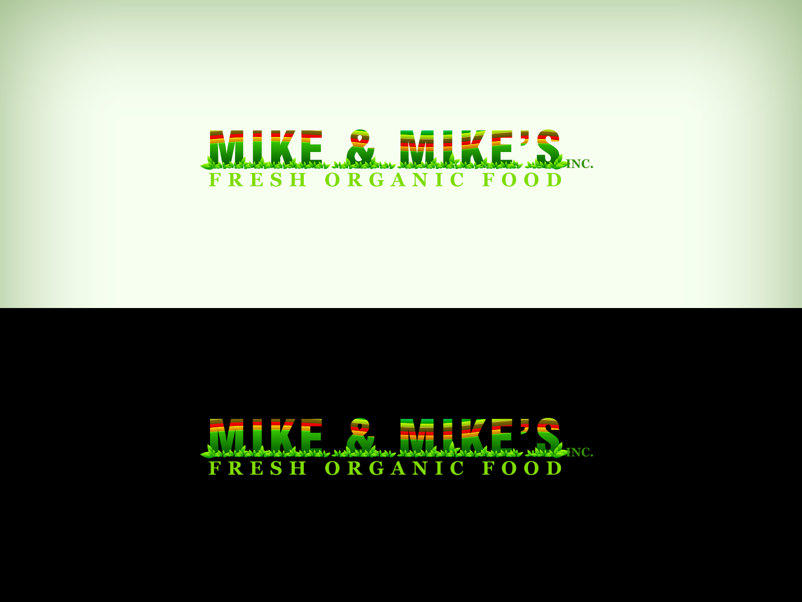 Logo Design by Virgilio Pineda III - Entry No. 117 in the Logo Design Contest Captivating Logo Design for Mike and Mike's Inc..