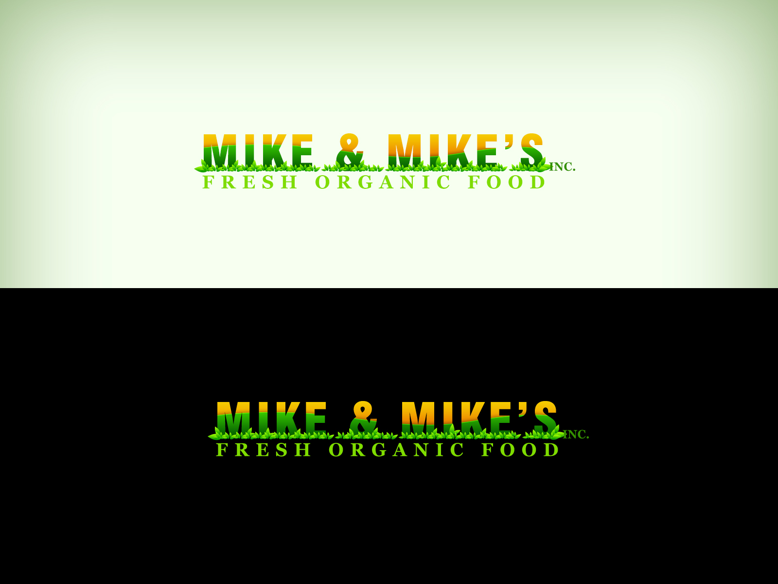 Logo Design by Virgilio Pineda III - Entry No. 118 in the Logo Design Contest Captivating Logo Design for Mike and Mike's Inc..