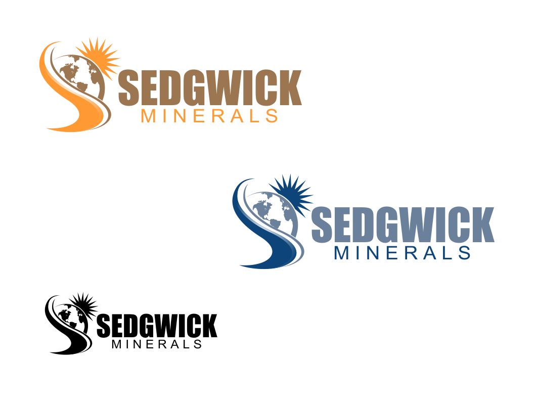 Logo Design by Chris Frederickson - Entry No. 5 in the Logo Design Contest Inspiring Logo Design for Sedgwick Minerals, LLC.