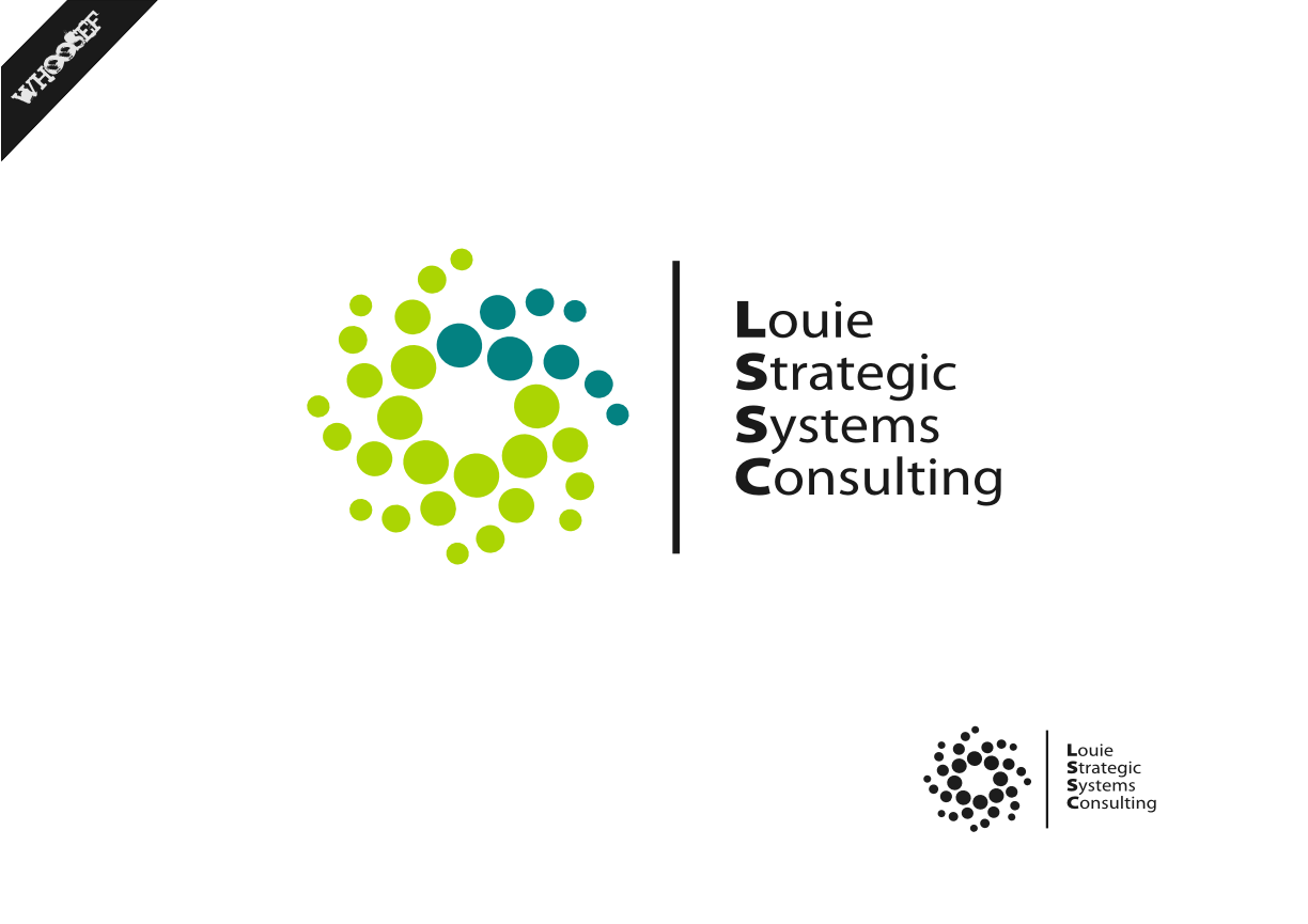 Logo Design by whoosef - Entry No. 110 in the Logo Design Contest Artistic Logo Design for Louie Strategic Systems Consulting.