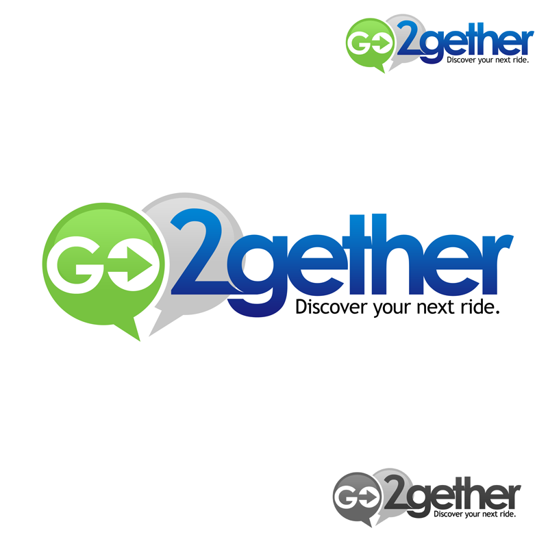Logo Design by Robert Turla - Entry No. 54 in the Logo Design Contest Captivating Logo Design for GO2GETHER.