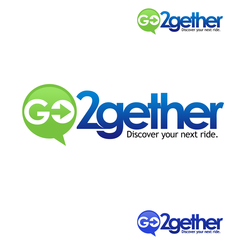 Logo Design by Private User - Entry No. 56 in the Logo Design Contest Captivating Logo Design for GO2GETHER.