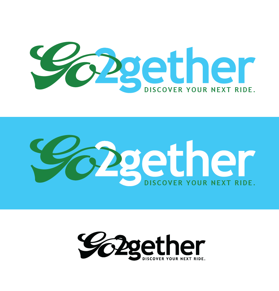Logo Design by Christina Evans - Entry No. 57 in the Logo Design Contest Captivating Logo Design for GO2GETHER.