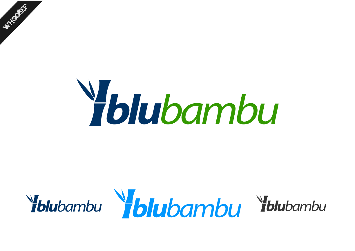 Logo Design by whoosef - Entry No. 30 in the Logo Design Contest New Logo Design for blubambu.