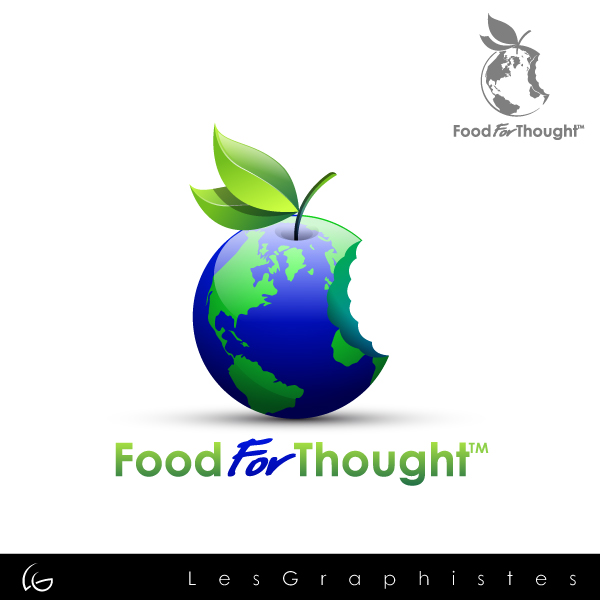 Logo Design by Les-Graphistes - Entry No. 31 in the Logo Design Contest Food for Thought -Partners include SUCCESS, BC Healthy Commu.