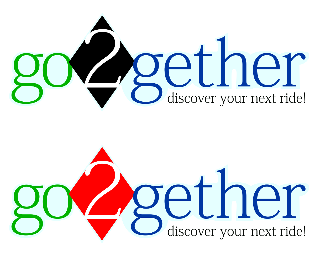 Logo Design by franz - Entry No. 58 in the Logo Design Contest Captivating Logo Design for GO2GETHER.