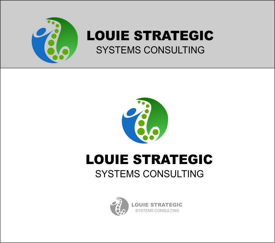 Logo Design by Agus Martoyo - Entry No. 135 in the Logo Design Contest Artistic Logo Design for Louie Strategic Systems Consulting.