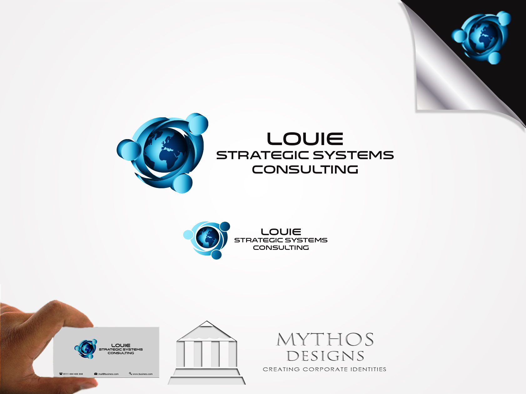 Logo Design by Mythos Designs - Entry No. 137 in the Logo Design Contest Artistic Logo Design for Louie Strategic Systems Consulting.