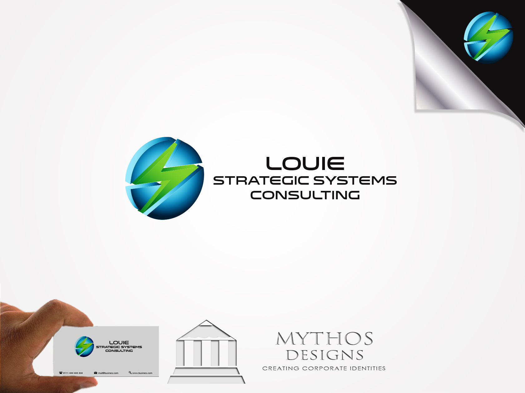 Logo Design by Mythos Designs - Entry No. 139 in the Logo Design Contest Artistic Logo Design for Louie Strategic Systems Consulting.