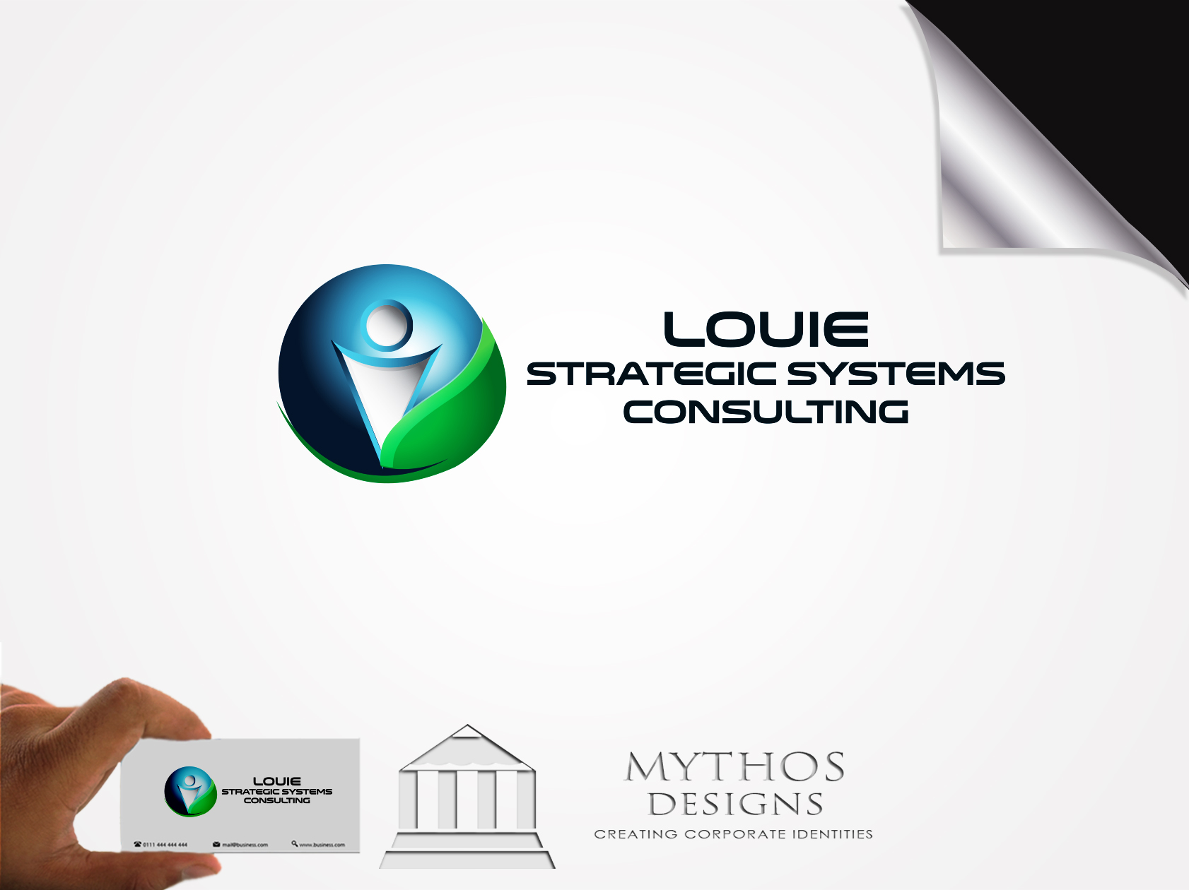 Logo Design by Mythos Designs - Entry No. 141 in the Logo Design Contest Artistic Logo Design for Louie Strategic Systems Consulting.
