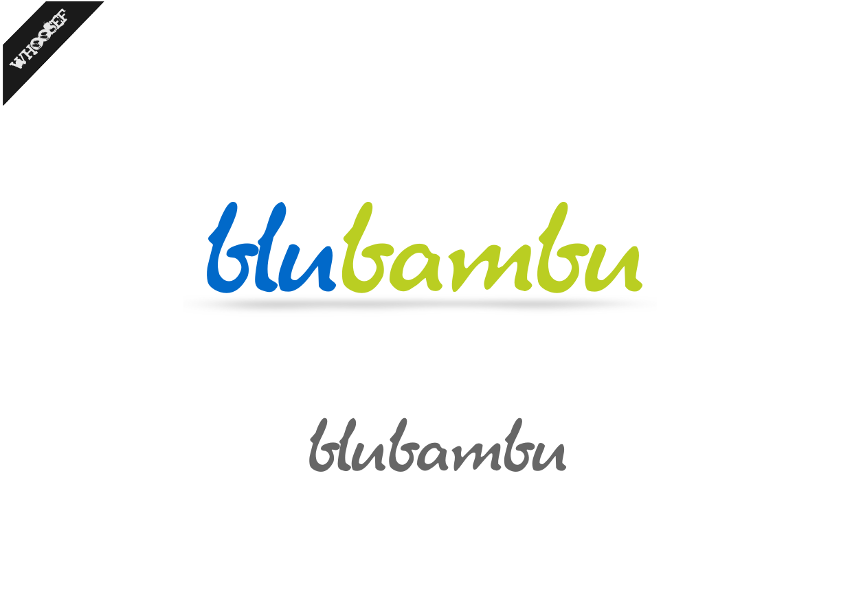 Logo Design by whoosef - Entry No. 36 in the Logo Design Contest New Logo Design for blubambu.
