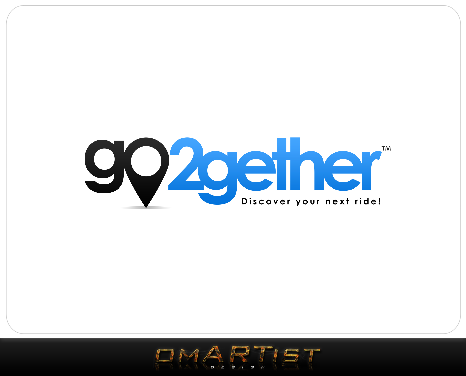 Logo Design by omARTist - Entry No. 60 in the Logo Design Contest Captivating Logo Design for GO2GETHER.