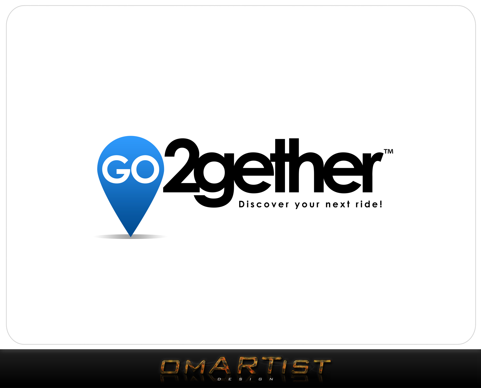 Logo Design by omARTist - Entry No. 61 in the Logo Design Contest Captivating Logo Design for GO2GETHER.