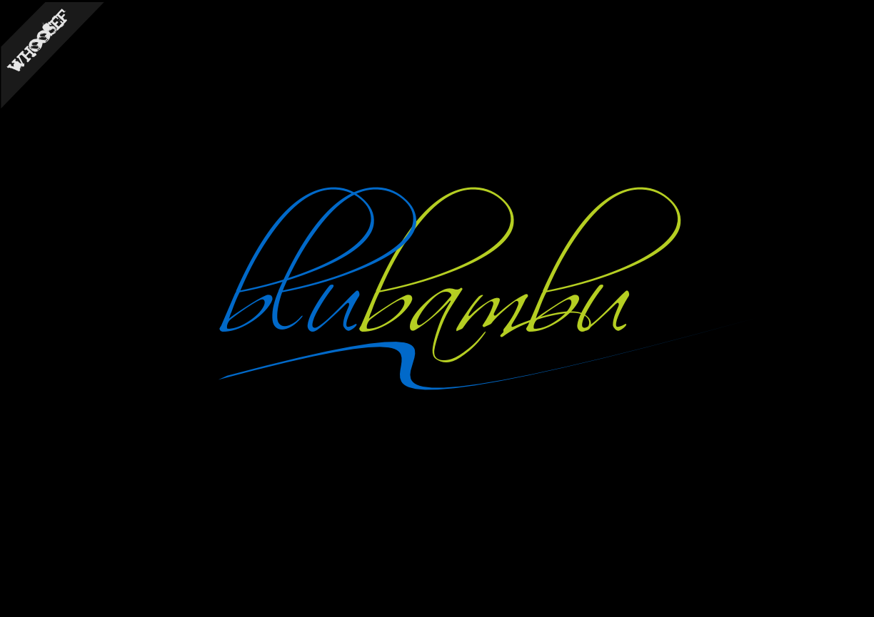 Logo Design by whoosef - Entry No. 37 in the Logo Design Contest New Logo Design for blubambu.