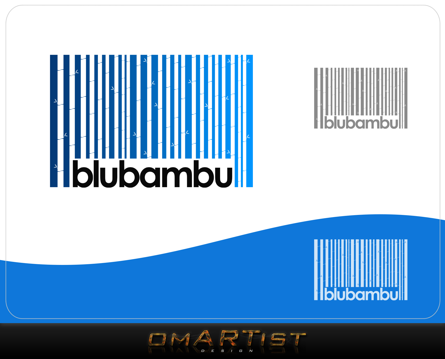 Logo Design by omARTist - Entry No. 38 in the Logo Design Contest New Logo Design for blubambu.