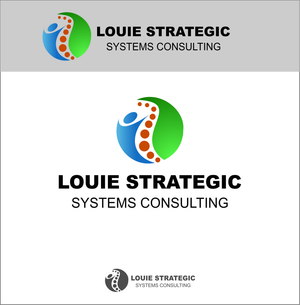 Logo Design by Agus Martoyo - Entry No. 150 in the Logo Design Contest Artistic Logo Design for Louie Strategic Systems Consulting.