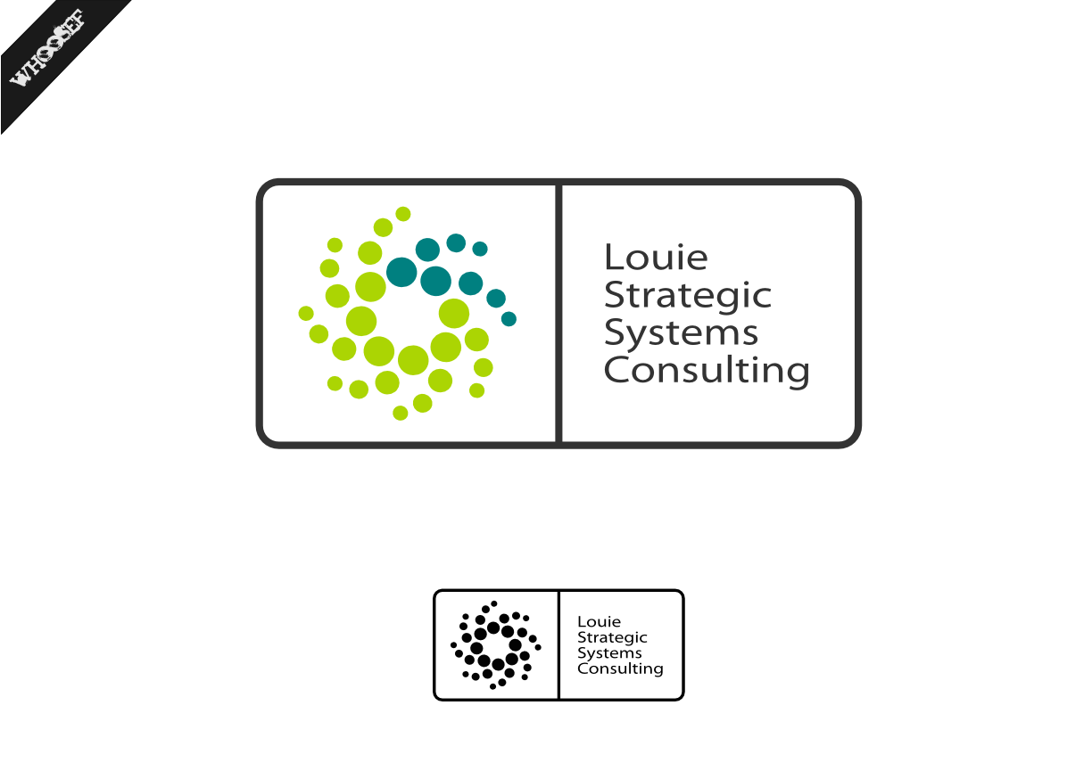 Logo Design by whoosef - Entry No. 164 in the Logo Design Contest Artistic Logo Design for Louie Strategic Systems Consulting.
