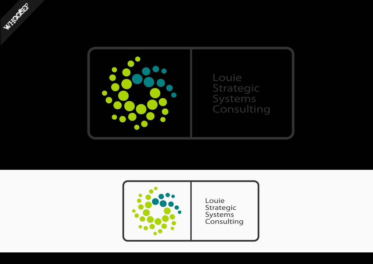 Logo Design by whoosef - Entry No. 165 in the Logo Design Contest Artistic Logo Design for Louie Strategic Systems Consulting.